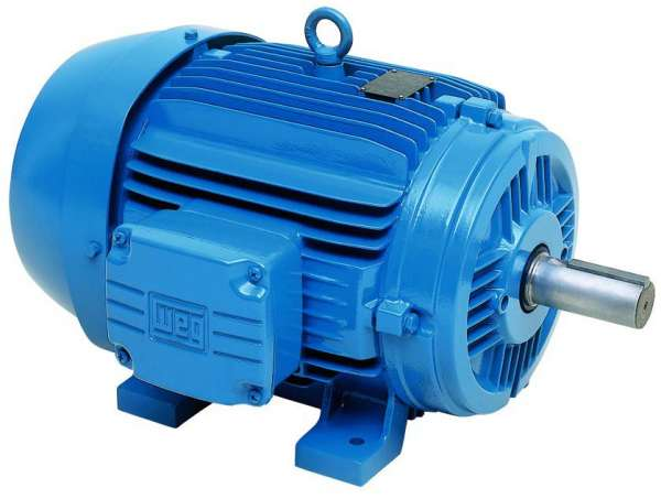 Motor WEG 00112ET3E143TW 1HP 1200 RPM 3/60hz