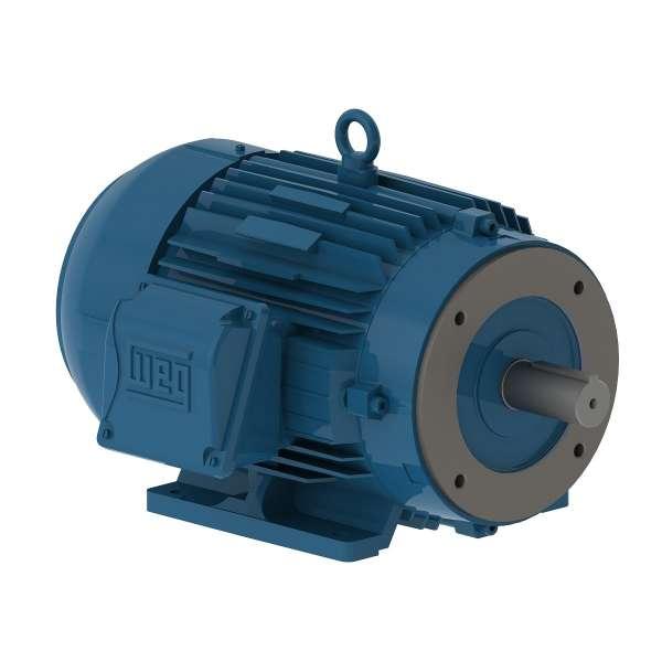Motor WEG .7509ET3E143TC 0.75HP 900 RPM 3/60hz