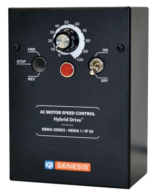 Inversor de frecuencia KB Electronics KBMA-24D, max 1Hp trifasico