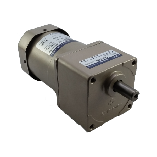 Motorreductor pequeño ejes paralelos fraccionario Astero Sumitomo modelo G9B7.5KH/A9M60BH 60watts 1/12HP 213 RPM