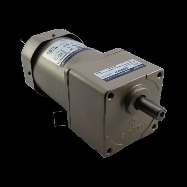 Motorreductor pequeño ejes paralelos fraccionario Astero Sumitomo modelo G9B7.5KH/A9M60BH/G9BXH10H 60watts 1/12HP 21 RPM