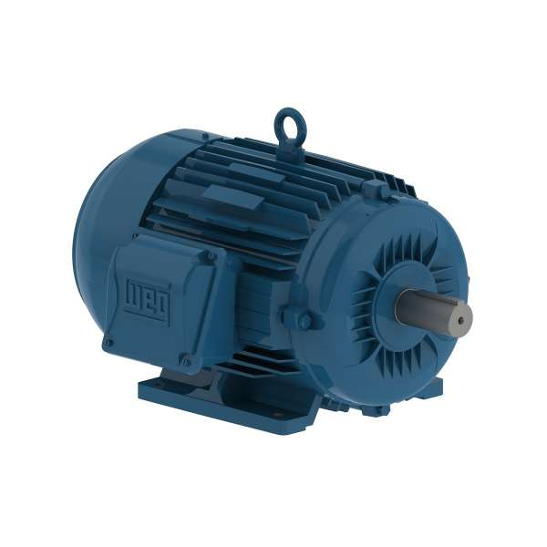 Motor electrico WEG trifasico 00109ET3EM182TW 1 Hp 900 RPM 182/4T