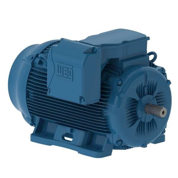 Motor electrico WEG trifasico 25018ET3EM447TW 250 Hp 1800 RPM 447/9T