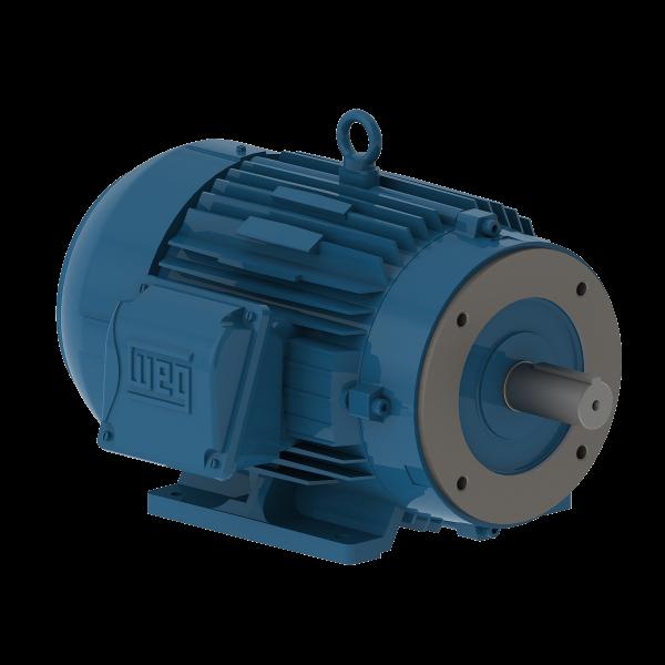 Motor electrico WEG trifasico 00109ET3EM182TCW 1 Hp 900 RPM 182/4TC