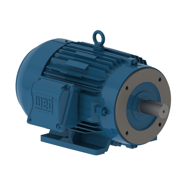 Motor electrico WEG trifasico 01036ET3EM215TCW 10 Hp 3600 RPM 213/5TC