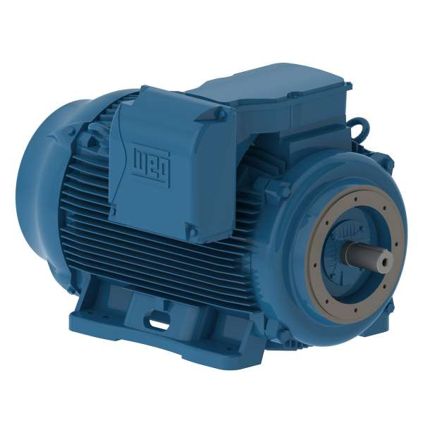 Motor electrico WEG trifasico 12509ET3EM447TCW 125 Hp 900 RPM 445/7TC