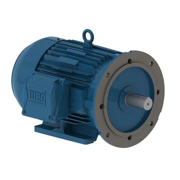 Motor electrico WEG trifasico 00109ET3EM182TDW 1 Hp 900 RPM 182/4TD