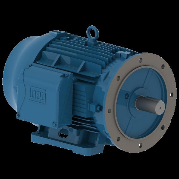 Motor electrico WEG trifasico 00712ET3EM254TDW 7.5 Hp 1200 RPM 254/6TD
