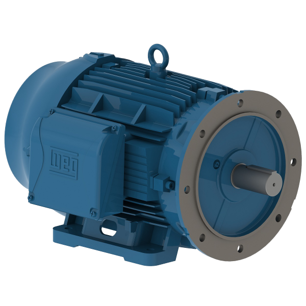 Motor electrico WEG trifasico 03036ET3EM286SCW 30 Hp 3600 RPM 284/6TSD