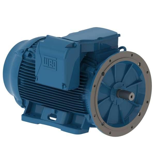 Motor electrico WEG trifasico 07509ET3EM444TDW 75 Hp 900 RPM 444/5TD