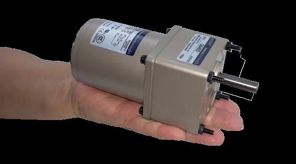 Motorreductor pequeño ejes paralelos fraccionario Astero Sumitomo modelo G615D/A6M06B 6watts 1/125HP 100 RPM