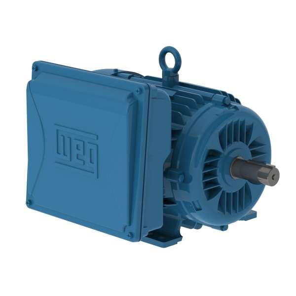 Motor WEG monofasico cerrado 10HP 1750 rpm 01018ES1E215TCN con brida tipo C