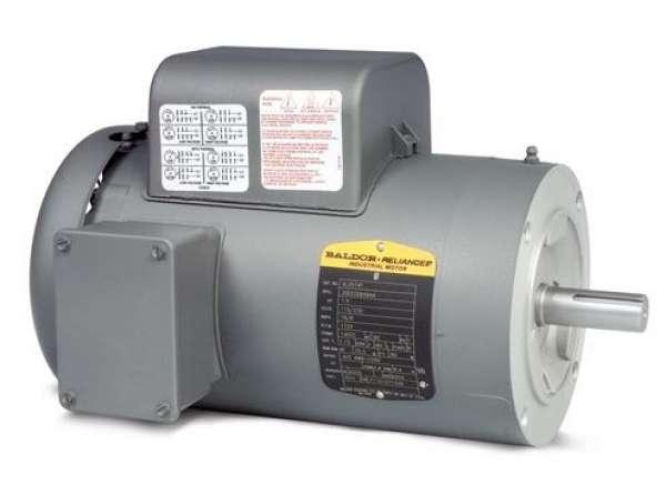 Motror monofasico  VL3506 TEFC de 0.75Hp 3600 RPM, armazon 56C